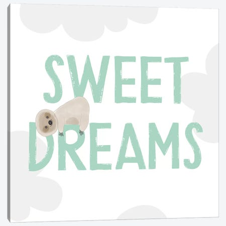 Sweet Dreams 3-Piece Canvas #LDA21} by Linda Woods Canvas Artwork