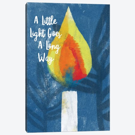 A Little Light Canvas Print #LDA22} by Linda Woods Canvas Wall Art