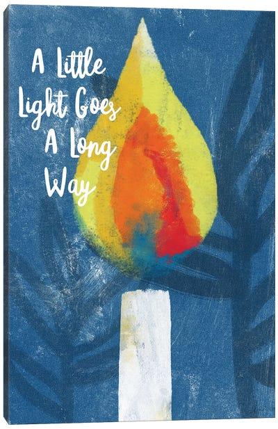 A Little Light Canvas Art Print