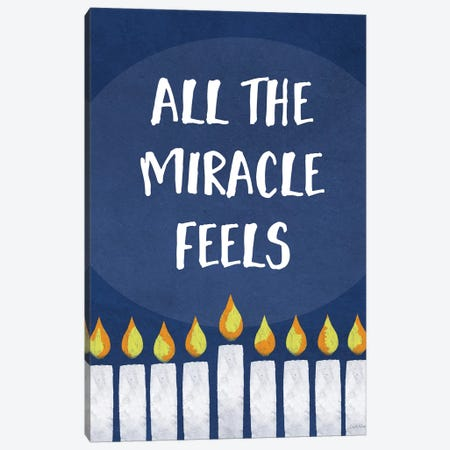 All the Miracle Feels Canvas Print #LDA24} by Linda Woods Canvas Art Print