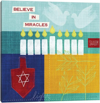 Believe in Miracles I Canvas Art Print