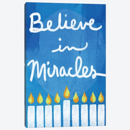Believe in Miracles II Canvas Print #LDA26} by Linda Woods Canvas Art Print