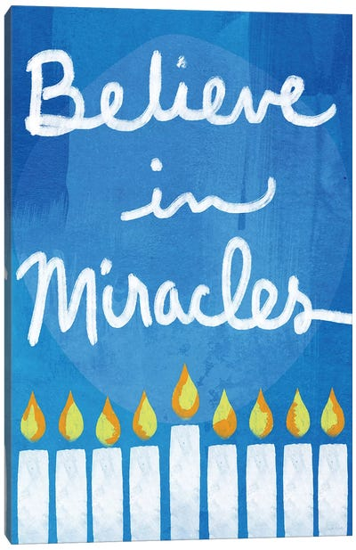 Believe in Miracles II Canvas Art Print
