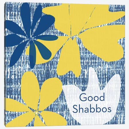 Good Shabbos Canvas Print #LDA58} by Linda Woods Canvas Print