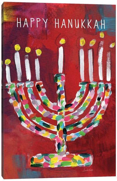 Hanukkah Menorah I Canvas Art Print
