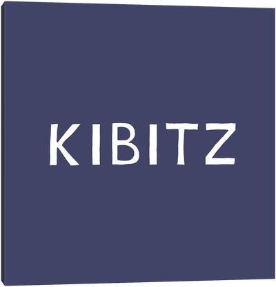 Kibitz Canvas Art Print