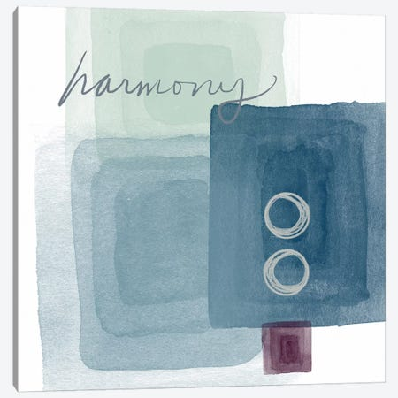Soothing Harmony Canvas Print #LDA9} by Linda Woods Canvas Art