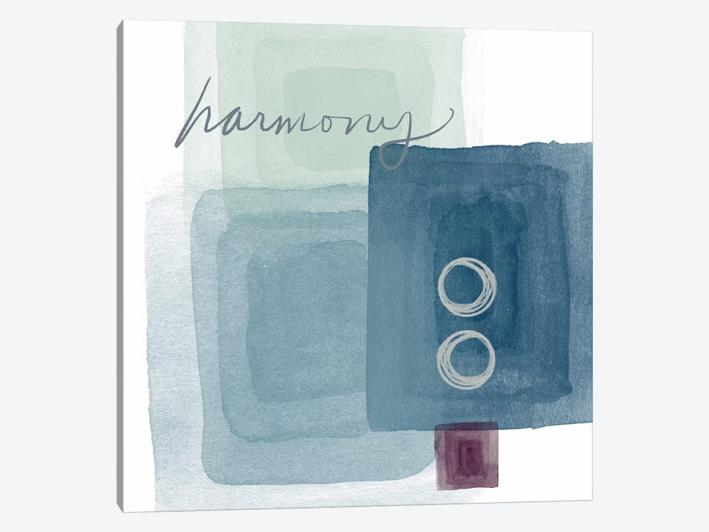 Soothing Harmony by Linda Woods 1-piece Canvas Art Print