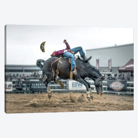 Battle Canvas Print #LDE2} by Larry Deng Canvas Wall Art