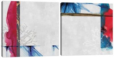 East Of Eden Diptych Canvas Art Print
