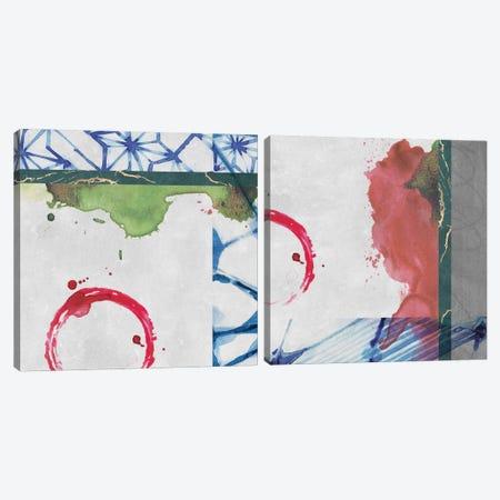 Agenais Diptych Canvas Print Set #LDH2HSET002} by Louis Duncan-He Canvas Wall Art