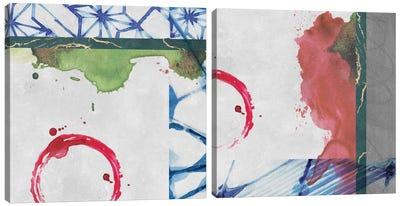 Agenais Diptych Canvas Art Print