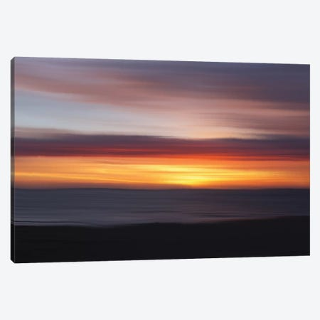 Ocean III Canvas Print #LDN17} by Sally Linden Art Print