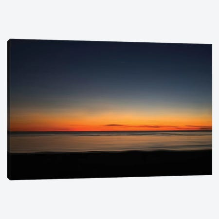 Ocean VII Canvas Print #LDN19} by Sally Linden Canvas Artwork