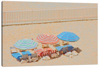 Umbrellas III Canvas Art Print