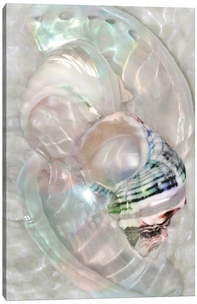 Underwater Light Waves V Canvas Art Print