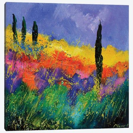 Tuscan memory Canvas Print #LDT103} by Pol Ledent Canvas Art Print