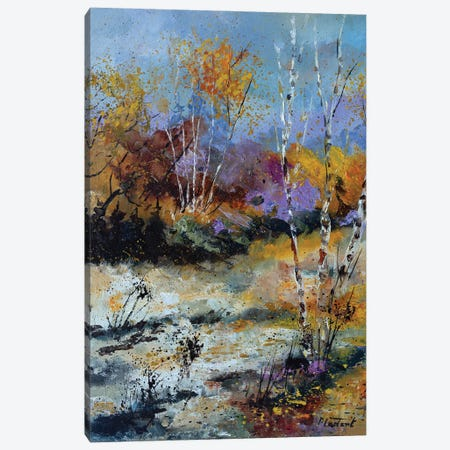 Autumnal clearing Canvas Print #LDT105} by Pol Ledent Canvas Art