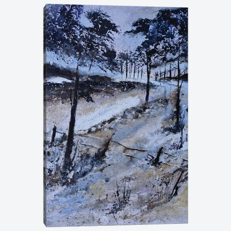 Winter in the wood - 45 Canvas Print #LDT108} by Pol Ledent Canvas Art Print