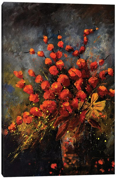 Autumnal still life Canvas Art Print