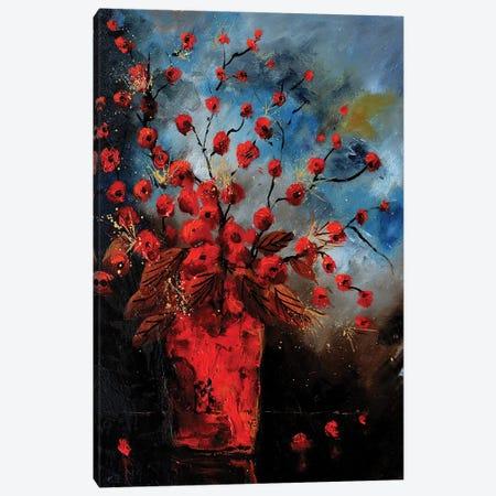 Red still life Canvas Print #LDT112} by Pol Ledent Canvas Art