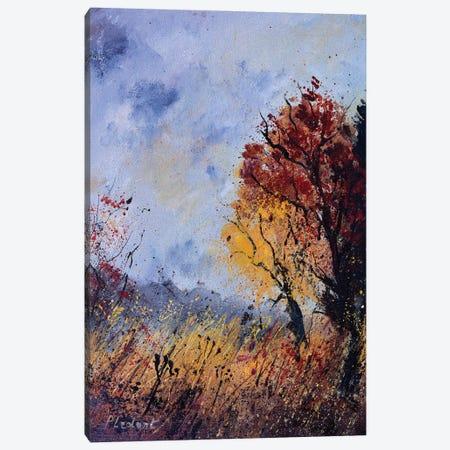 Autumnal morning Canvas Print #LDT123} by Pol Ledent Art Print