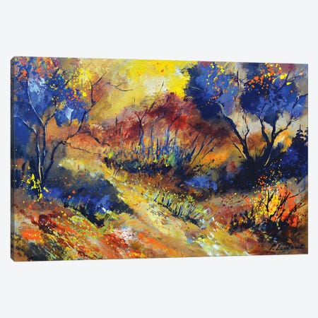 Magic autumnal landscape Canvas Print #LDT125} by Pol Ledent Canvas Wall Art
