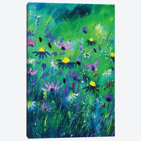 Wild flowers summer 2020 Canvas Print #LDT127} by Pol Ledent Canvas Artwork