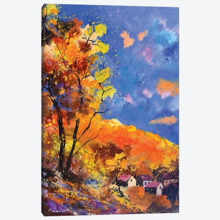 Autumn Rich Colors Canvas Print #LDT12} by Pol Ledent Canvas Wall Art