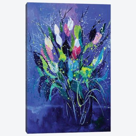 Tulips Canvas Print #LDT130} by Pol Ledent Canvas Wall Art