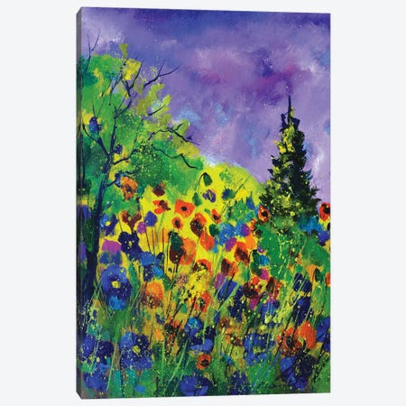Summer wood Canvas Print #LDT131} by Pol Ledent Canvas Artwork