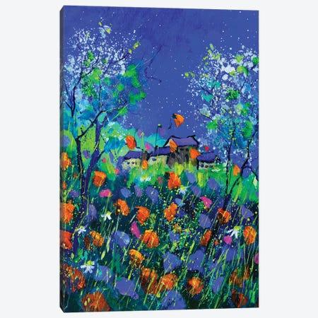 Magic poppies -  451120 Canvas Print #LDT135} by Pol Ledent Art Print
