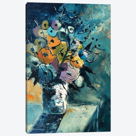 Still life -101120 Canvas Print #LDT151} by Pol Ledent Canvas Art