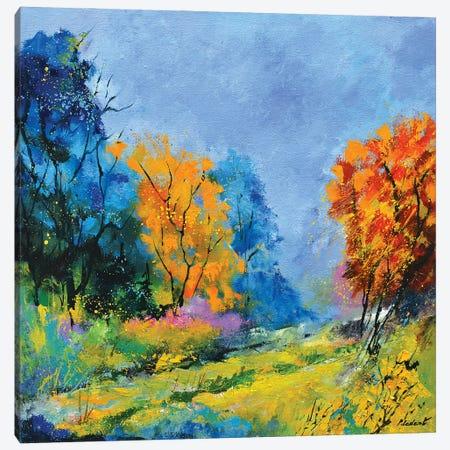 Bold autumn colors Canvas Print #LDT156} by Pol Ledent Canvas Print