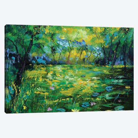 Waterlilies - 65 Canvas Print #LDT159} by Pol Ledent Canvas Artwork