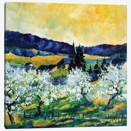Full Spring Canvas Print #LDT16} by Pol Ledent Canvas Art Print
