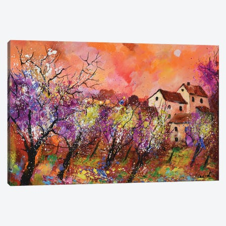 Moonshine Canvas Print #LDT17} by Pol Ledent Art Print