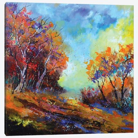 Happy Autumnal Afternoon Canvas Print #LDT184} by Pol Ledent Canvas Artwork