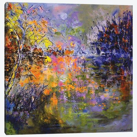 Lady Vivien's Lake Canvas Print #LDT188} by Pol Ledent Canvas Art Print