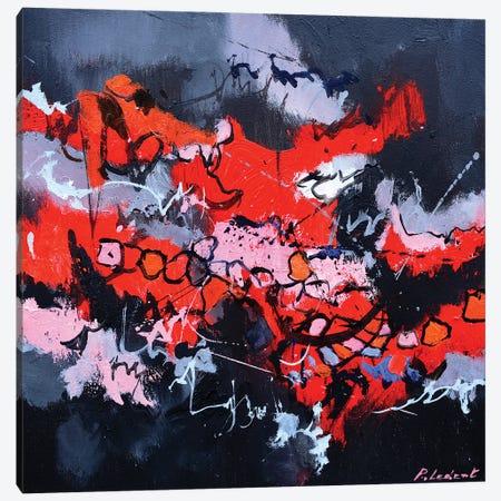 Reds Against Blacks Canvas Print #LDT193} by Pol Ledent Canvas Artwork