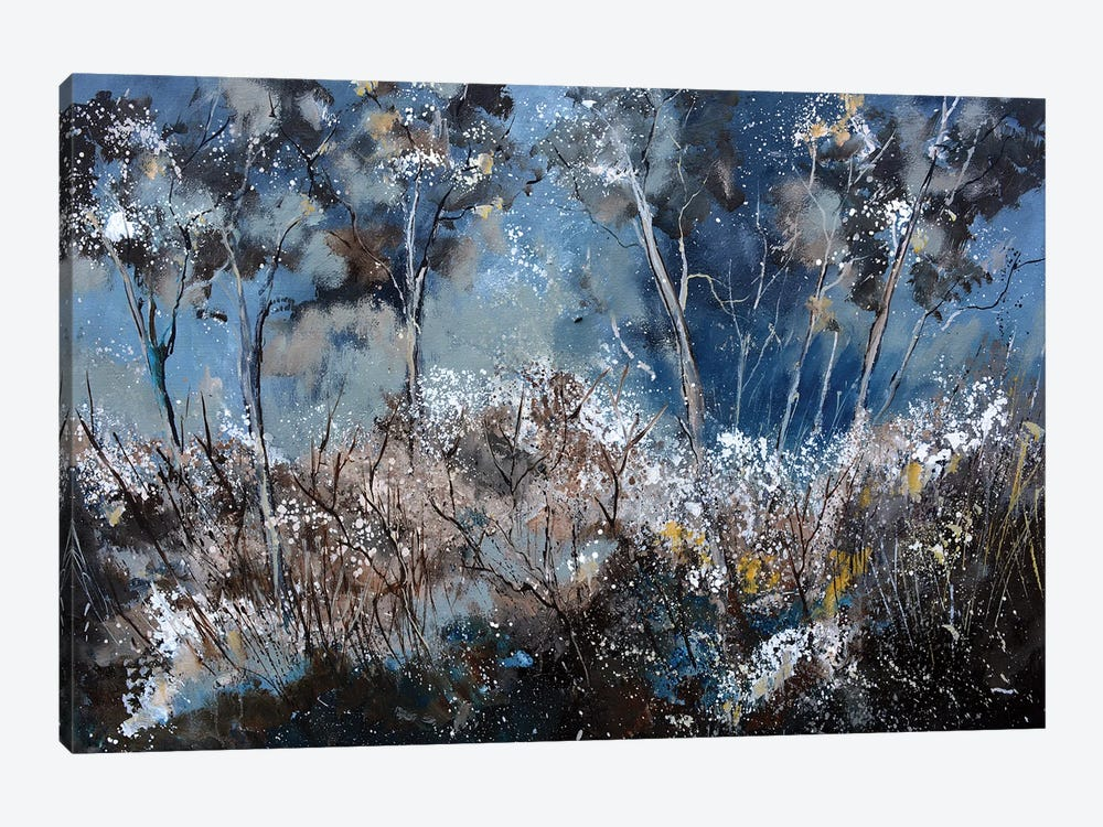 Winter In The Wood by Pol Ledent 1-piece Canvas Wall Art
