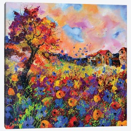 Autumnal Afternoon Canvas Print #LDT201} by Pol Ledent Canvas Wall Art