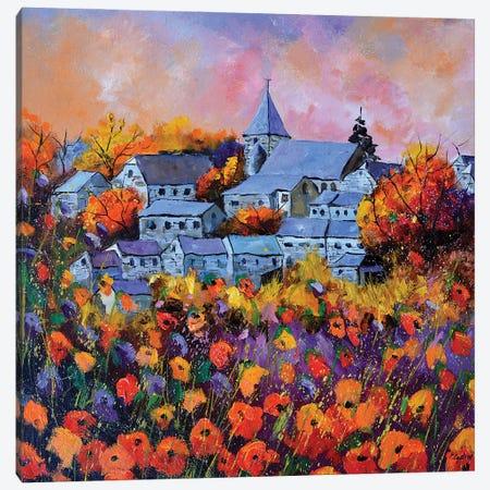 Autumn In Awagne Canvas Print #LDT204} by Pol Ledent Canvas Art Print