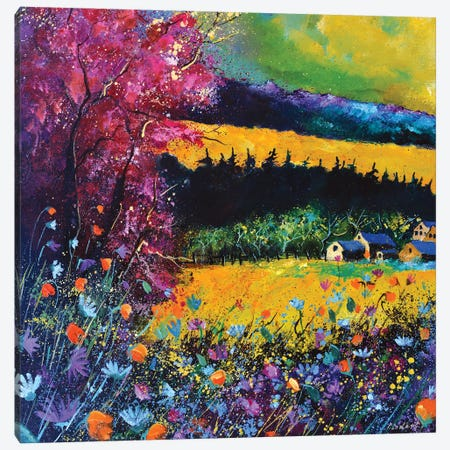 Autumn Is Coming Canvas Print #LDT207} by Pol Ledent Art Print