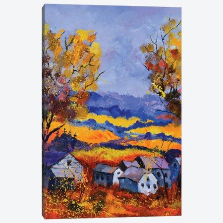 Autumn In Outoy Canvas Print #LDT220} by Pol Ledent Canvas Artwork