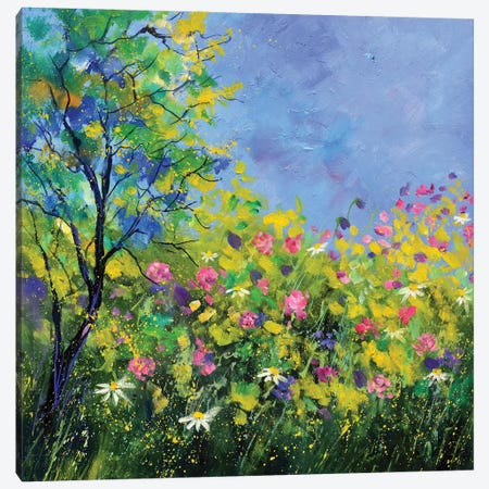 Spring Canvas Print #LDT224} by Pol Ledent Art Print