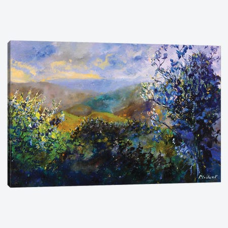 Looking At The Hills Canvas Print #LDT228} by Pol Ledent Canvas Art