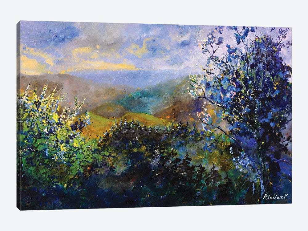 Looking At The Hills by Pol Ledent 1-piece Canvas Artwork
