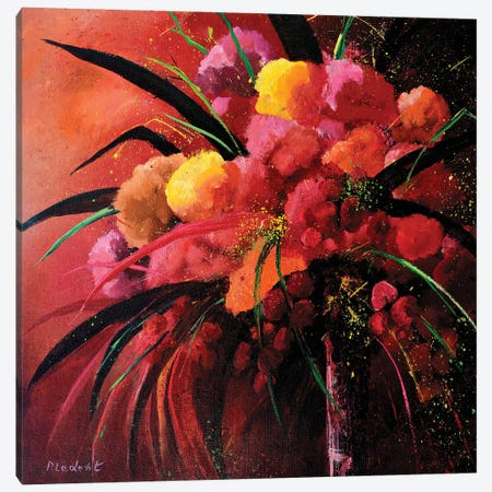 Pink Still Life Canvas Print #LDT22} by Pol Ledent Canvas Print