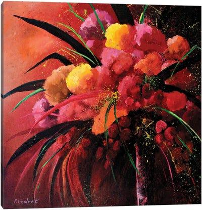 Pink Still Life Canvas Art Print